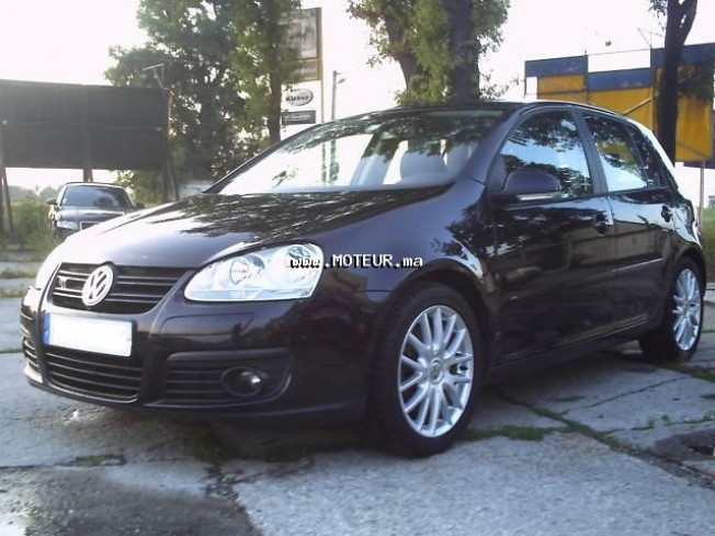 volkswagen golf 5 gt 170 ch 2006 diesel 17064 occasion casablanca maroc. Black Bedroom Furniture Sets. Home Design Ideas