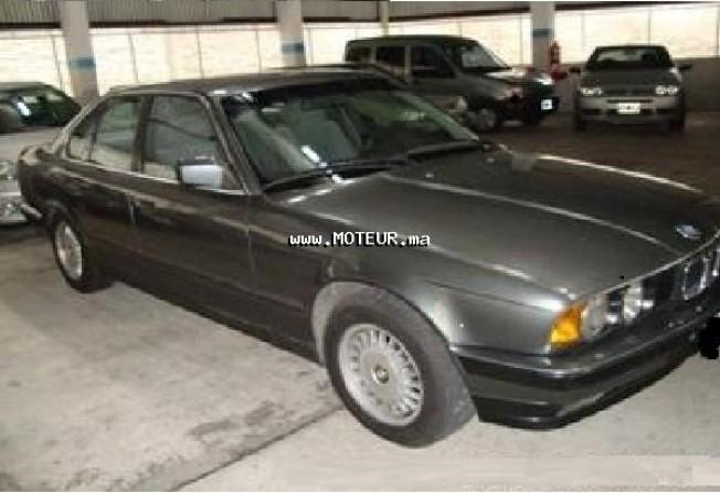 bmw serie 5 525i 1990 essence 20030 occasion rabat maroc. Black Bedroom Furniture Sets. Home Design Ideas