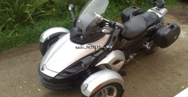 can am spyder automatique 2010 occasion 130471 marrakech maroc. Black Bedroom Furniture Sets. Home Design Ideas