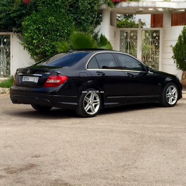 mercedes classe c 220 pack amg 2011 diesel 68265 occasion casablanca maroc. Black Bedroom Furniture Sets. Home Design Ideas