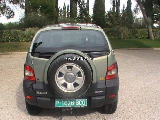 renault scenic rx4 1 9 dci 2002 diesel 14942 occasion tanger maroc. Black Bedroom Furniture Sets. Home Design Ideas