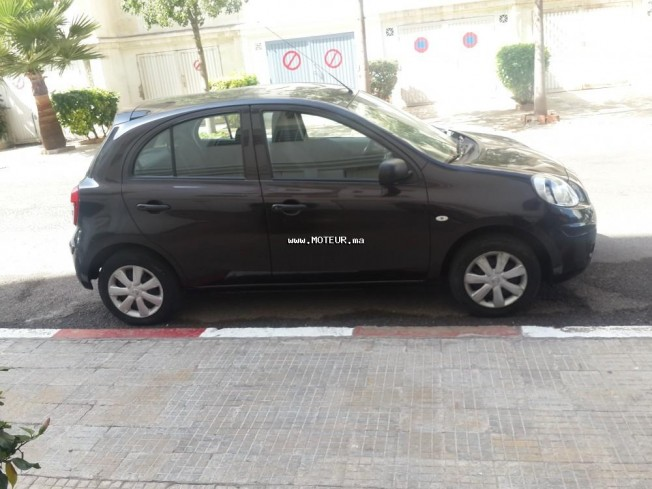 nissan micra 2012 essence 71600 occasion casablanca maroc. Black Bedroom Furniture Sets. Home Design Ideas