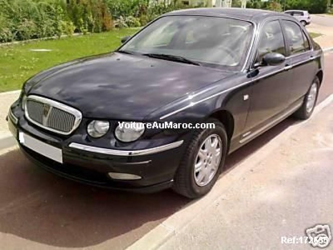 rover 75 2001 essence 12090 occasion rabat maroc. Black Bedroom Furniture Sets. Home Design Ideas