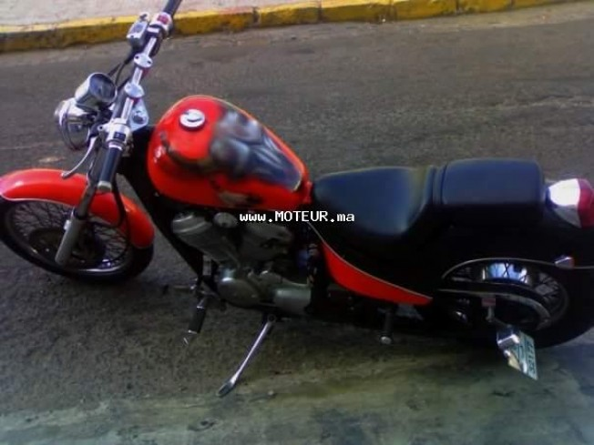 دراجة نارية في المغرب هوندا شادوو 600 vtr - 133220