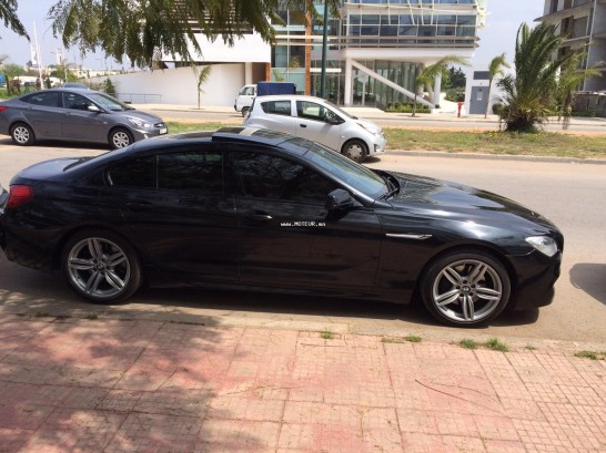 Voiture au Maroc BMW Serie 6 Grand coupe - 112859