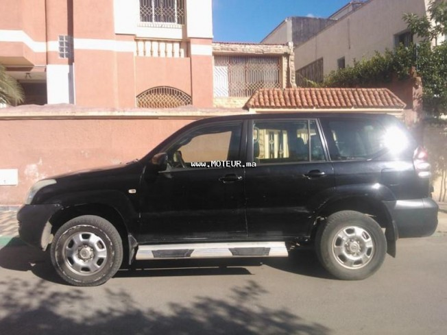 toyota prado 2005 diesel 54687 occasion rabat maroc. Black Bedroom Furniture Sets. Home Design Ideas