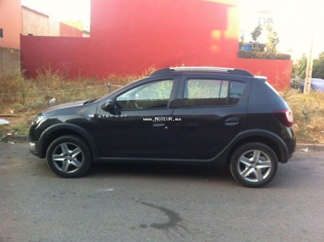 dacia sandero stepway 2014 diesel 67832 occasion casablanca maroc. Black Bedroom Furniture Sets. Home Design Ideas