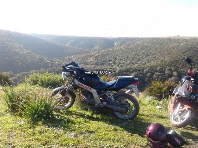 Moto au Maroc DAELIM History 125 - 131145