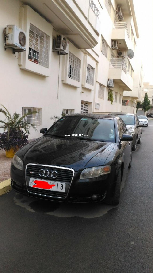 audi a4 2006 diesel 120507 occasion fes maroc. Black Bedroom Furniture Sets. Home Design Ideas