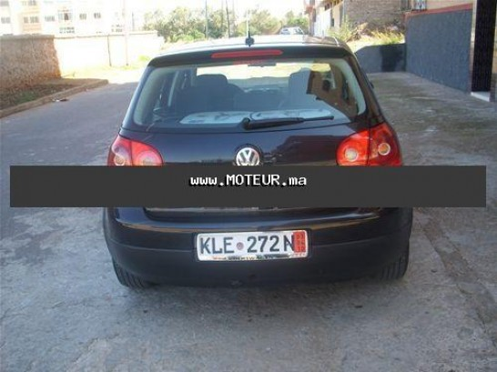 volkswagen golf 5 2006 2006 diesel 27780 occasion casablanca maroc. Black Bedroom Furniture Sets. Home Design Ideas