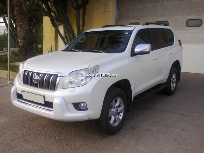 toyota prado tx full options 2012 diesel 52326 occasion casablanca maroc. Black Bedroom Furniture Sets. Home Design Ideas
