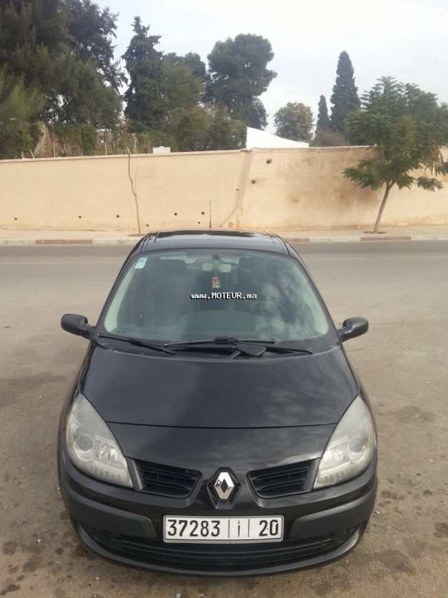 renault scenic 1 5 dci 2008 diesel 61273 occasion meknes maroc. Black Bedroom Furniture Sets. Home Design Ideas