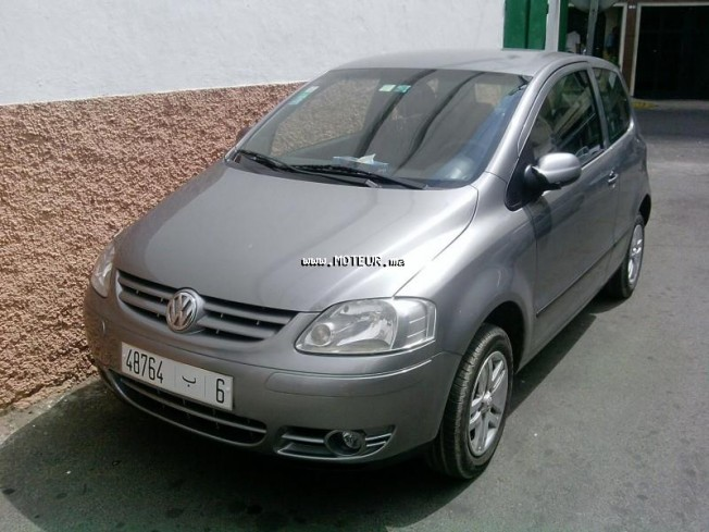 volkswagen fox 2006 essence 31009 occasion casablanca maroc. Black Bedroom Furniture Sets. Home Design Ideas
