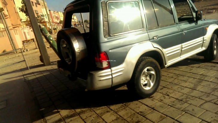 hyundai galloper 2000 diesel 116365 occasion el jadida maroc. Black Bedroom Furniture Sets. Home Design Ideas
