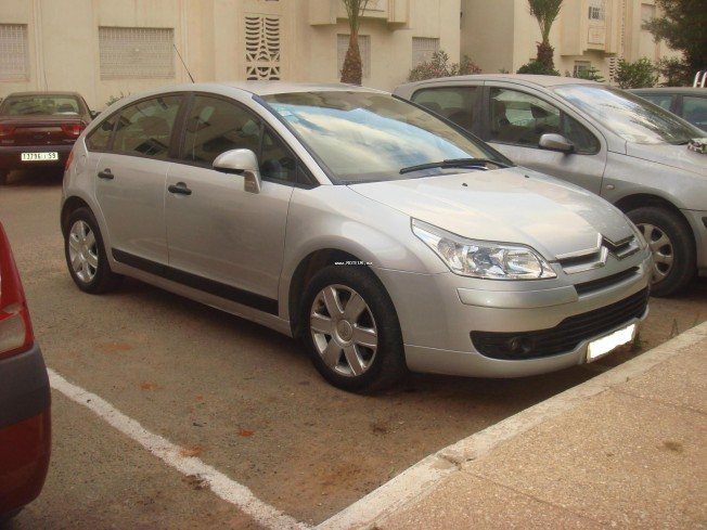 citroen c4 1 6 hdi 110cv 2005 diesel 14366 occasion casablanca maroc. Black Bedroom Furniture Sets. Home Design Ideas