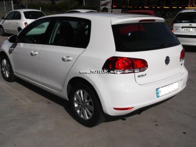 volkswagen golf 6 1 6 tdi dpf advance 2010 diesel 45115 occasion autre maroc. Black Bedroom Furniture Sets. Home Design Ideas