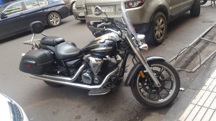 Moto au Maroc YAMAHA V star silverado Vstar 950 tourer - 133574