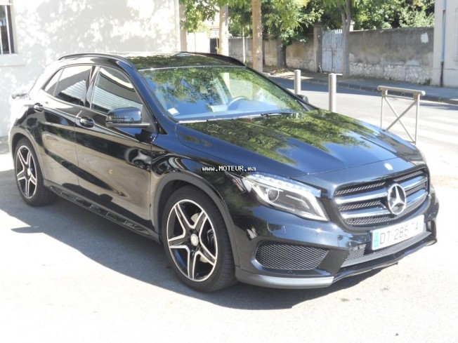 mercedes gla 220 cdi amg 2015 diesel 70020 occasion casablanca maroc. Black Bedroom Furniture Sets. Home Design Ideas