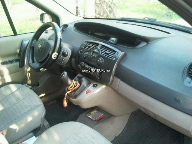 renault scenic dci 1 5 2005 diesel 47472 vendre casablanca. Black Bedroom Furniture Sets. Home Design Ideas