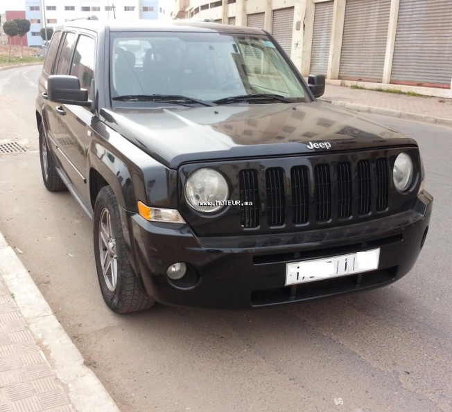 jeep patriot 2007 diesel 87742 occasion casablanca maroc. Black Bedroom Furniture Sets. Home Design Ideas