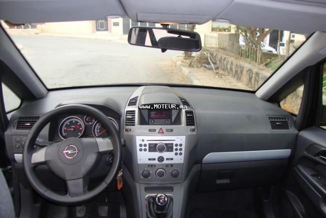 Opel zafira 1 9l cdti 2007 diesel 31633 occasion rabat maroc for Interieur zafira b