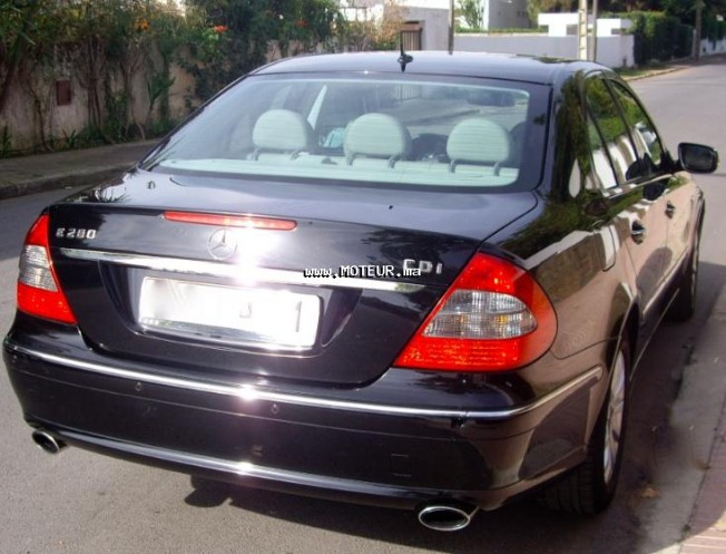 mercedes classe e 280 cdi 2009 diesel 17995 occasion rabat maroc. Black Bedroom Furniture Sets. Home Design Ideas