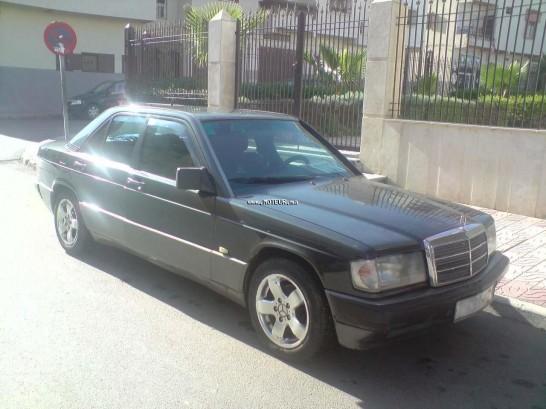 mercedes 190 normale 1993 diesel 18296 occasion rabat maroc. Black Bedroom Furniture Sets. Home Design Ideas