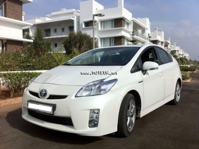 toyota prius hybride 2009 essence 25719 occasion rabat maroc. Black Bedroom Furniture Sets. Home Design Ideas