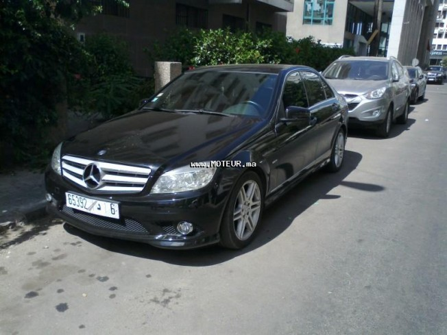 mercedes classe c cdi 220 2009 diesel 34732 occasion casablanca maroc. Black Bedroom Furniture Sets. Home Design Ideas
