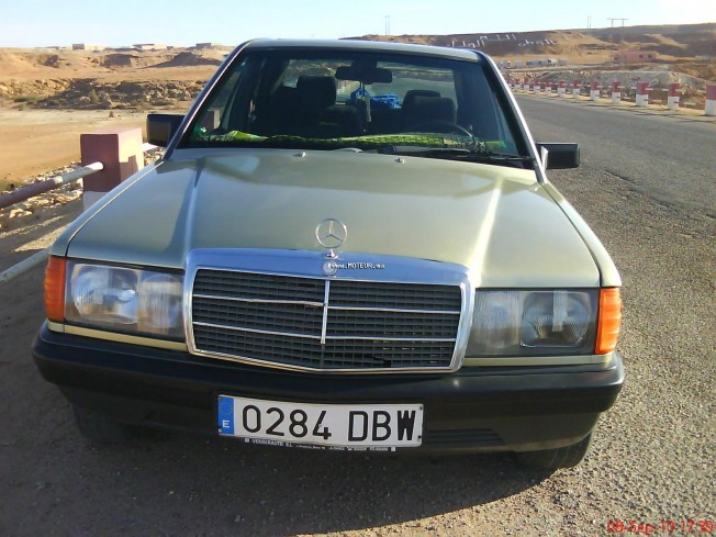 mercedes 190 normal 1987 diesel 14805 occasion laayoune maroc. Black Bedroom Furniture Sets. Home Design Ideas