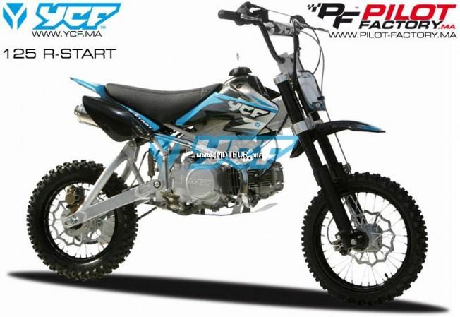 Moto au Maroc YCF 125 r start 125 r - 126649