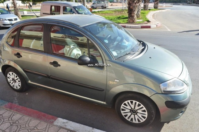 citroen c3 1 4 hdi 2006 diesel 82418 occasion casablanca maroc. Black Bedroom Furniture Sets. Home Design Ideas