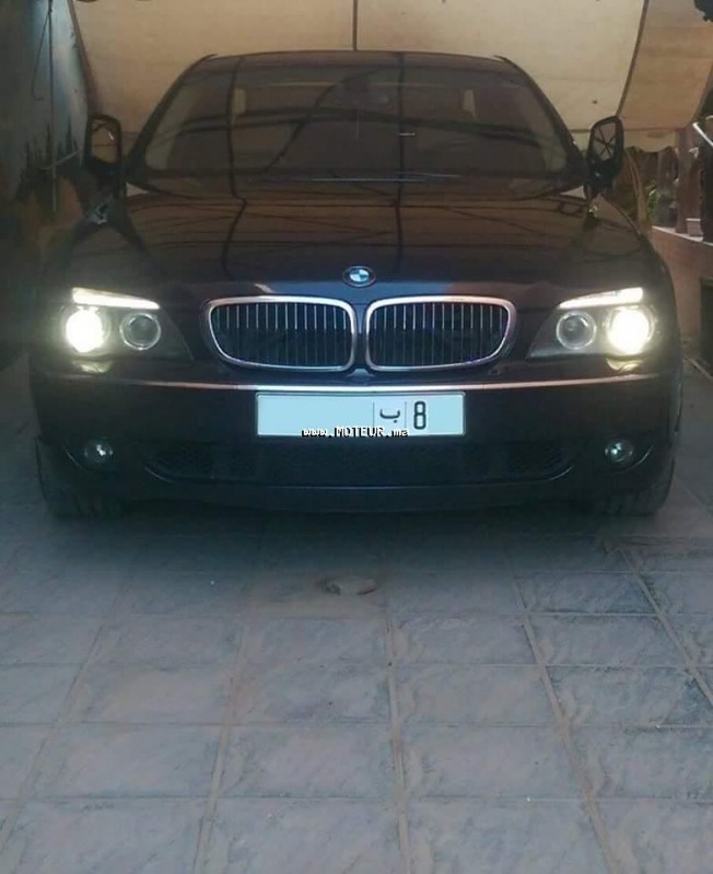 bmw serie 7 730d finition exclusive line 2008 diesel 67052 occasion casablanca maroc. Black Bedroom Furniture Sets. Home Design Ideas