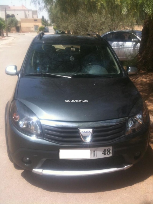 dacia sandero stepway dci 1 5 2012 diesel 37719 occasion oujda maroc. Black Bedroom Furniture Sets. Home Design Ideas