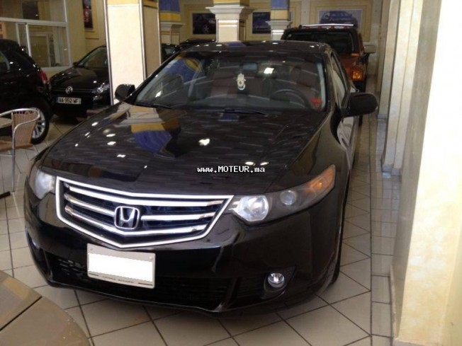 honda accord 2008 diesel 56552 occasion fes maroc. Black Bedroom Furniture Sets. Home Design Ideas