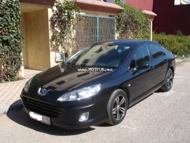 peugeot 407 2007 essence 28523 occasion el jadida maroc. Black Bedroom Furniture Sets. Home Design Ideas