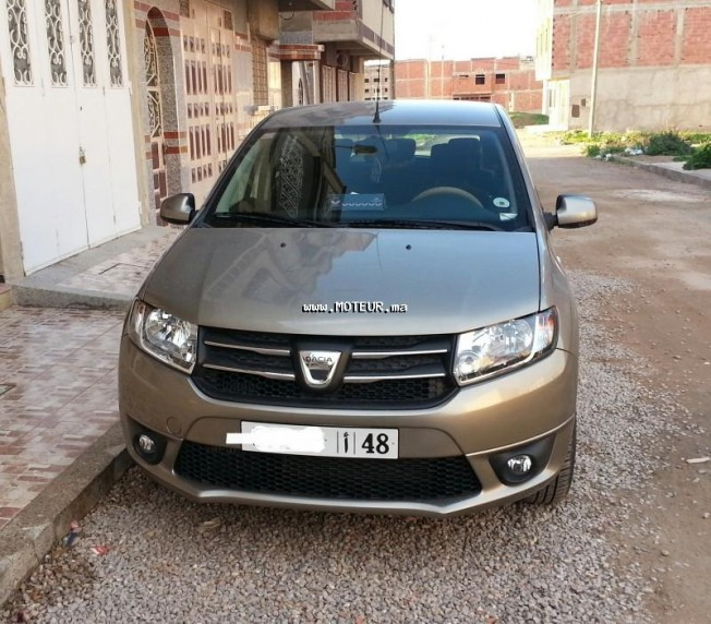dacia sandero dci 1 5 2013 diesel 52721 occasion oujda maroc. Black Bedroom Furniture Sets. Home Design Ideas