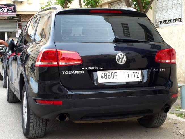 volkswagen touareg v6 2011 diesel 106933 occasion casablanca maroc. Black Bedroom Furniture Sets. Home Design Ideas