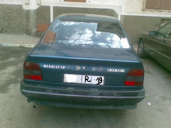 renault r19 1993 essence 9932 occasion marrakech maroc. Black Bedroom Furniture Sets. Home Design Ideas
