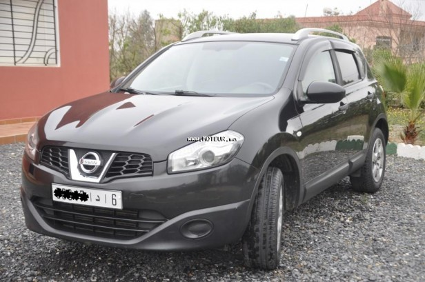 nissan qashqai 2010 diesel 84613 occasion casablanca maroc. Black Bedroom Furniture Sets. Home Design Ideas