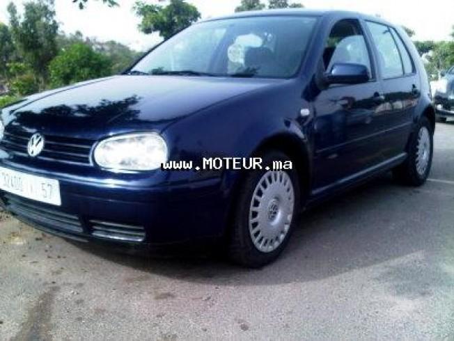 Voiture Volkswagen Golf 4 2000 à agadir  Diesel  - 8 chevaux