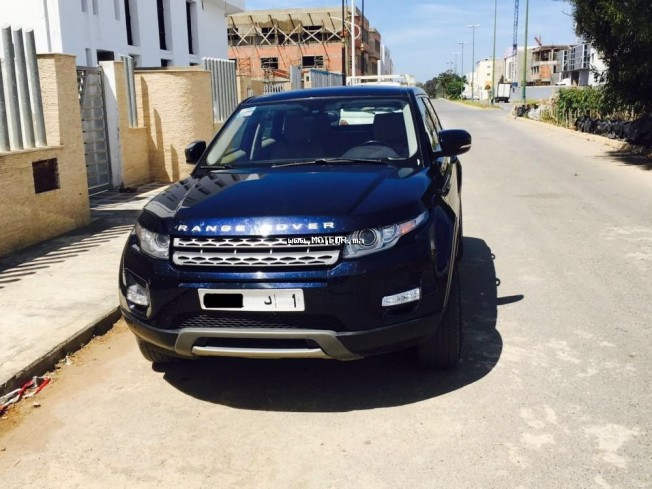 land rover range rover evoque 2012 diesel 95235 occasion rabat maroc. Black Bedroom Furniture Sets. Home Design Ideas