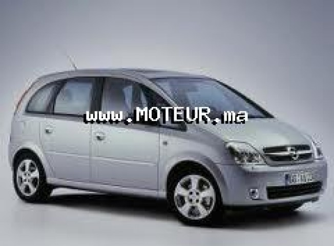 opel meriva 1 7 cdi 2005 diesel 19370 occasion tanger maroc. Black Bedroom Furniture Sets. Home Design Ideas
