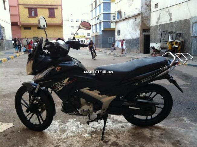 Moto au Maroc DOCKER Matrix R110 - 130713