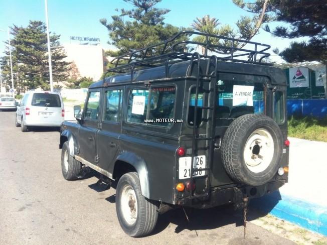 land rover defender 2002 diesel 75182 occasion essaouira maroc. Black Bedroom Furniture Sets. Home Design Ideas
