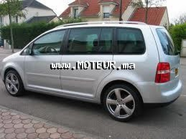 volkswagen touran 1 9 2008 essence 47291 occasion nador maroc. Black Bedroom Furniture Sets. Home Design Ideas