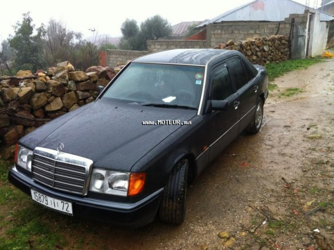 mercedes 250 250d ded 2007 1990 diesel 56884 occasion casablanca maroc. Black Bedroom Furniture Sets. Home Design Ideas