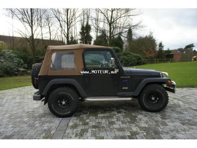 jeep wrangler sport 1997 essence 43958 occasion casablanca maroc. Black Bedroom Furniture Sets. Home Design Ideas
