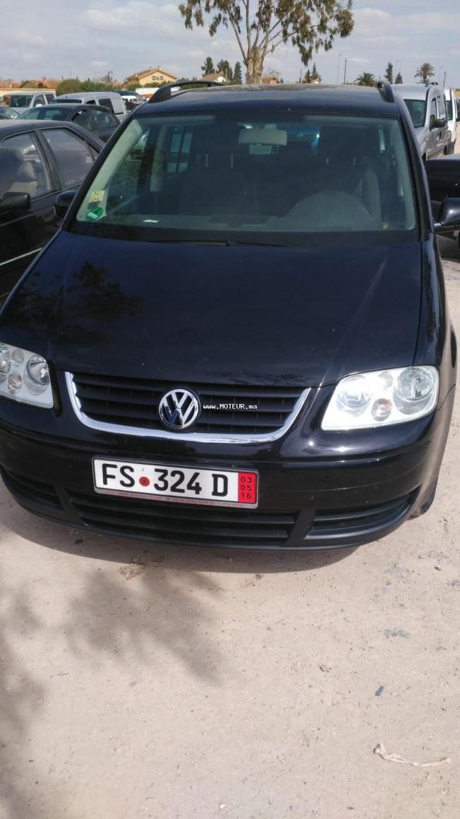 volkswagen touran 2003 diesel 94783 occasion casablanca maroc. Black Bedroom Furniture Sets. Home Design Ideas