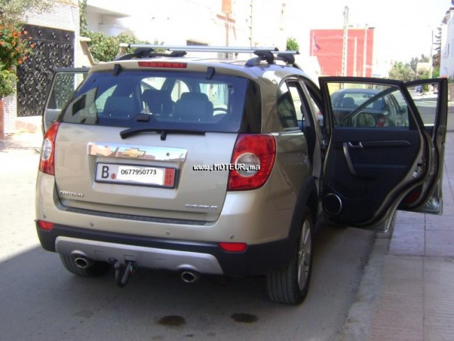 chevrolet captiva 2 0 2008 diesel 37123 occasion agadir maroc. Black Bedroom Furniture Sets. Home Design Ideas